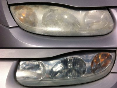 Before and After Headlights