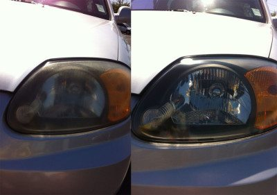 Headlights Before After
